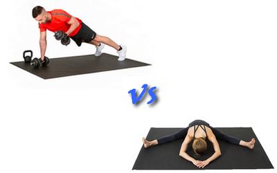 Workout Series VS Yoga Series: quel modèle de tapis de fitness grand format choisir?